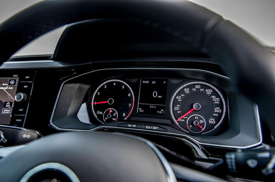 Volkswagen Polo 1.0 TSI instrument cluster