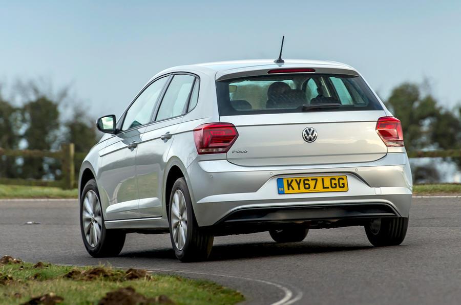 Volkswagen Polo 1.0 TSI rear cornering