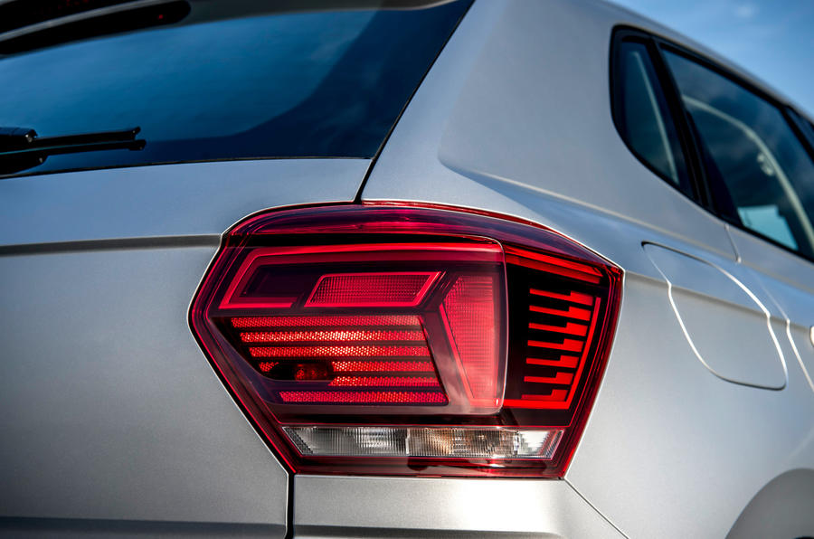 Volkswagen Polo 1.0 TSI rear light