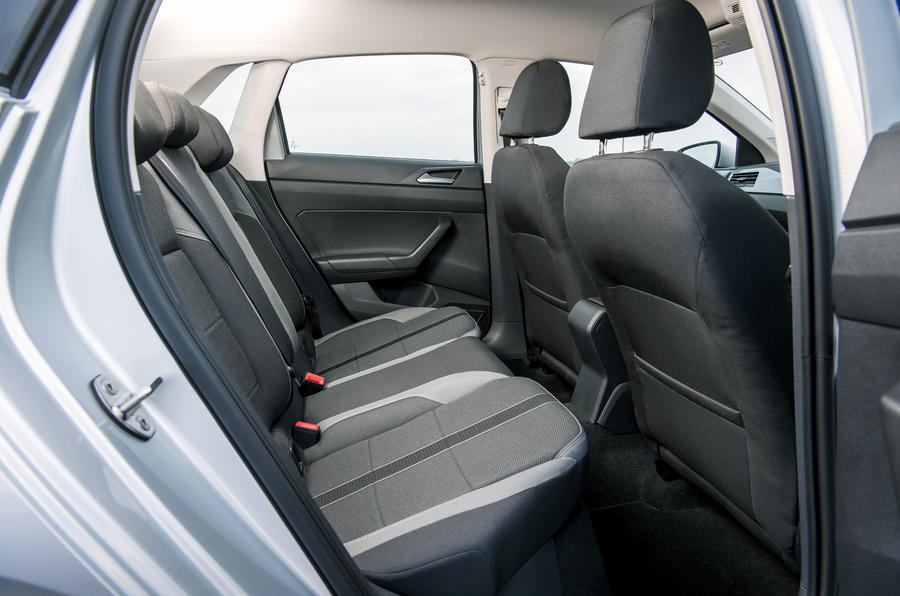 Volkswagen Polo 1.0 TSI rear seats