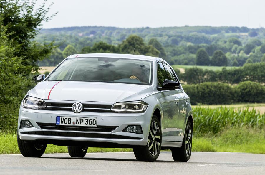 Volkswagen Polo cornering