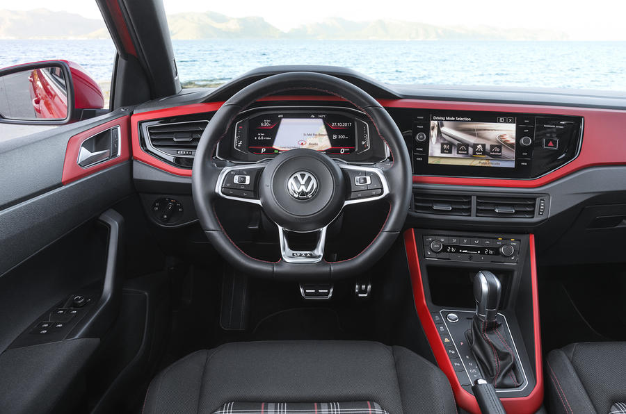 Volkswagen Polo GTI dashboard