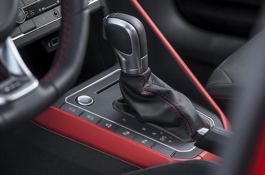 Volkswagen Polo GTI DSG gearbox