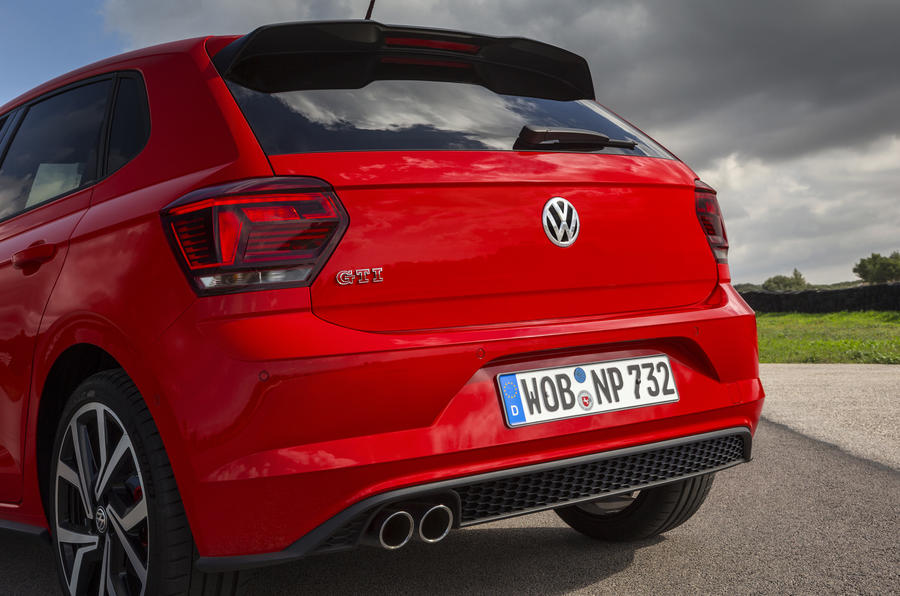 Volkswagen Polo GTI rear end