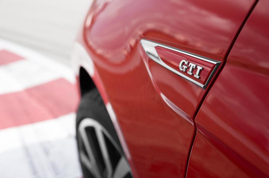 Volkswagen Polo GTI side badging