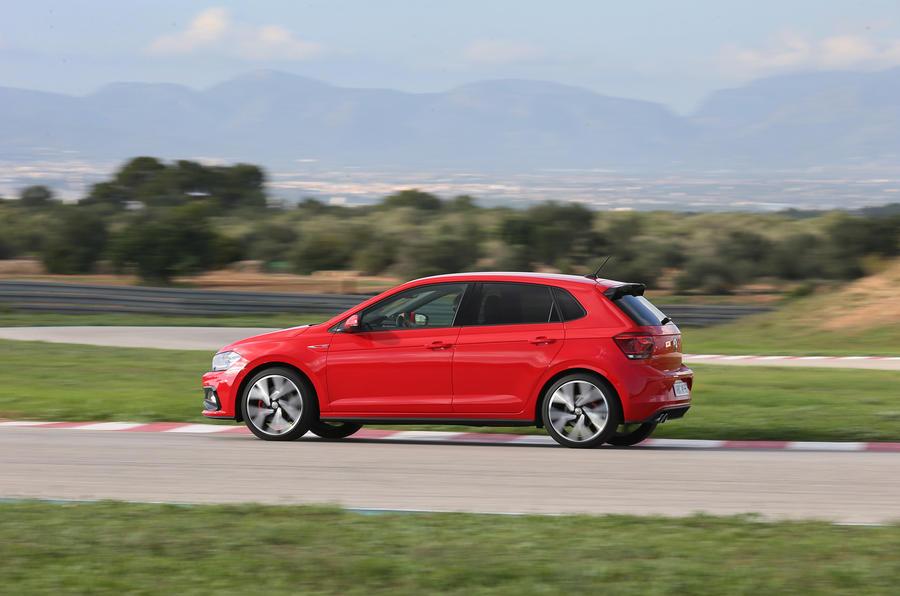 Volkswagen Polo GTI side profile