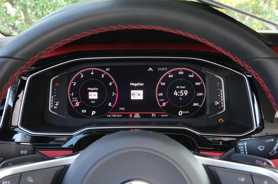 Volkswagen Polo GTI Active Info Display