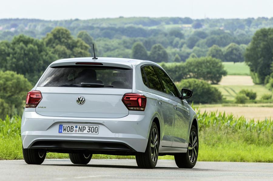 Volkswagen Polo rear cornering
