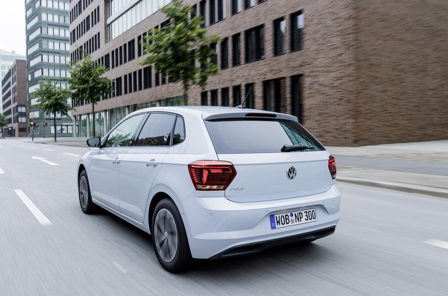 Volkswagen Polo rear