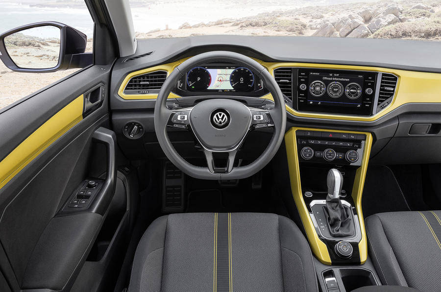 Volkswagen T-Roc TDI dashboard