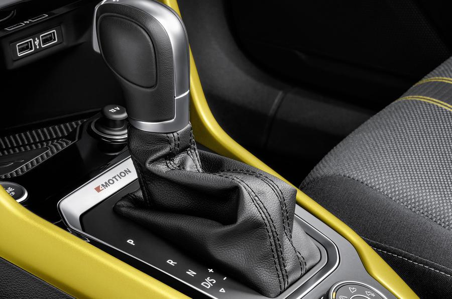 Volkswagen T-Roc TDI DSG gearbox