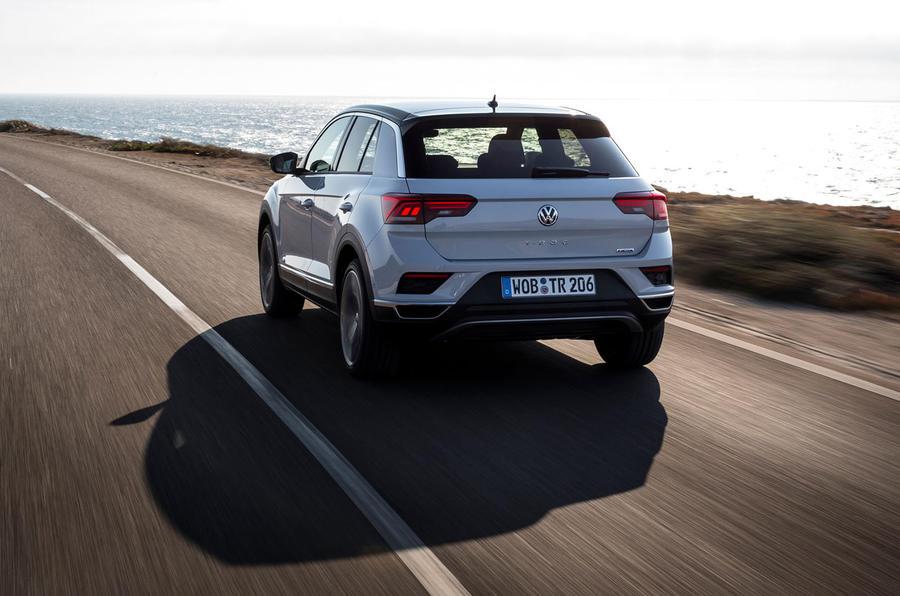 Volkswagen T-Roc rear quarter