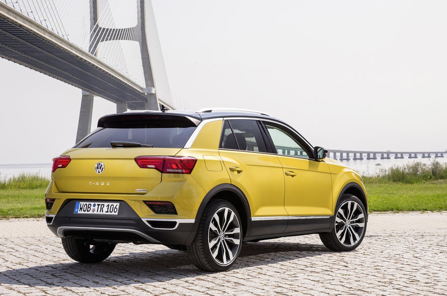 Volkswagen T-Roc TDI rear quarter