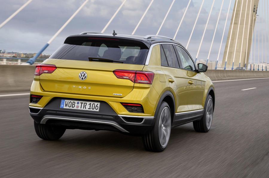 Volkswagen T-Roc TDI rear