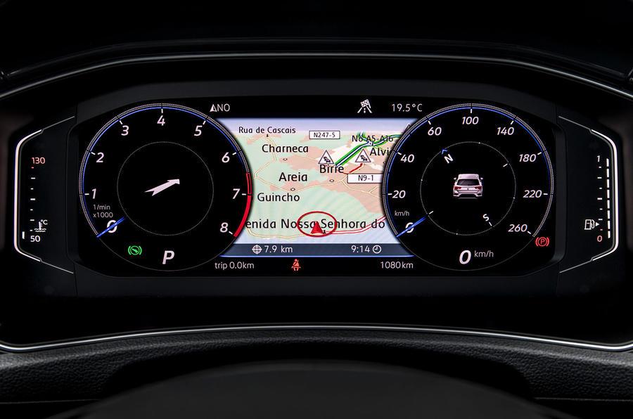 Volkswagen T-Roc Virtual Display