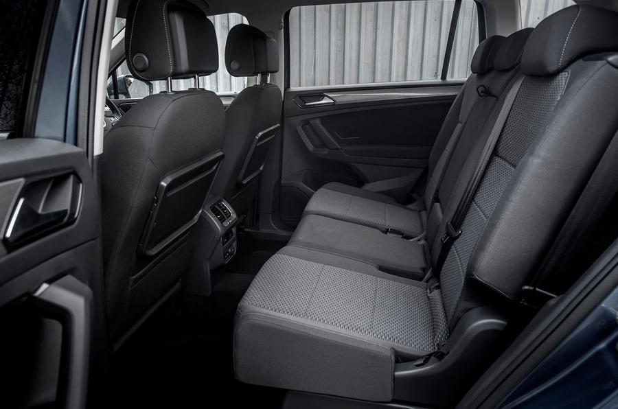 Volkswagen Tiguan Allspace rear seats