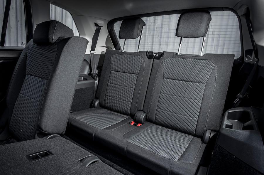 Volkswagen Tiguan Allspace third row seats