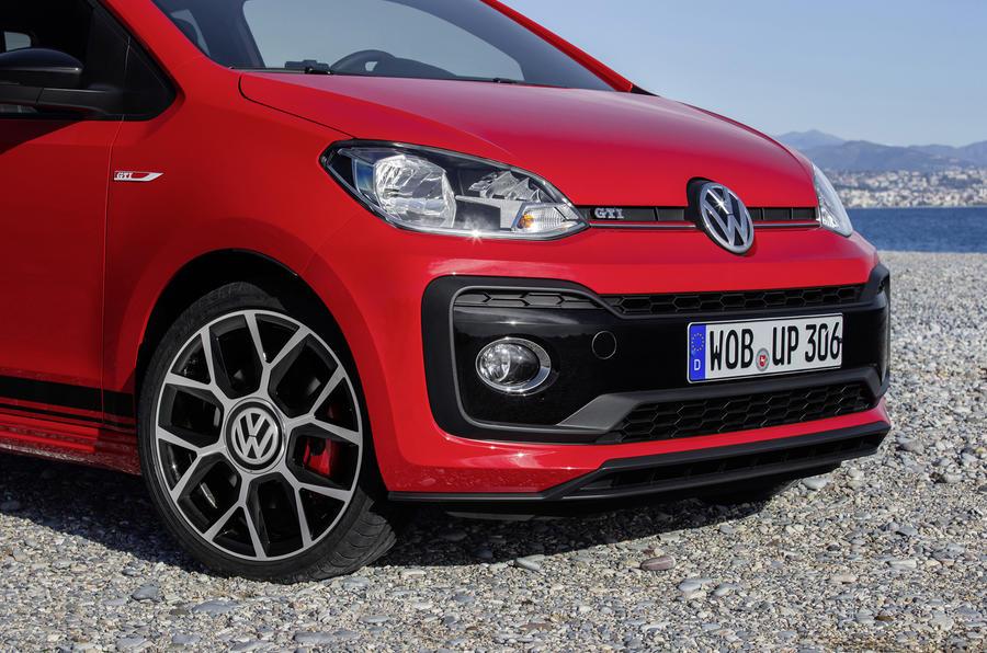 Volkswagen Up GTI front end
