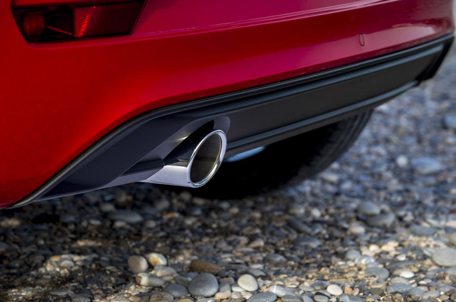 Volkswagen Up GTI chrome exhaust