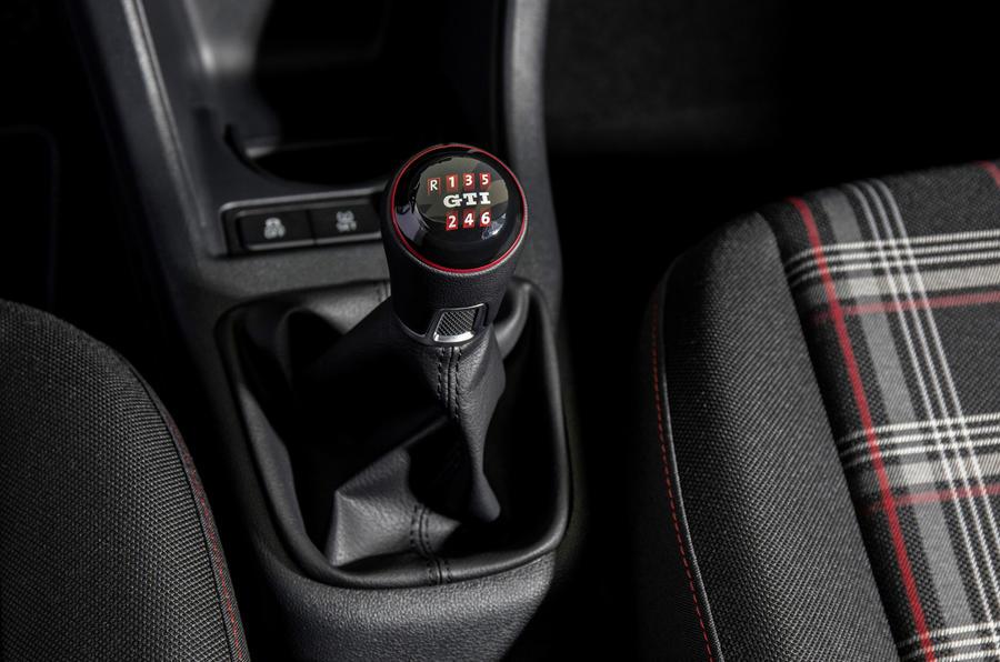 Volkswagen Up GTI manual gearbox
