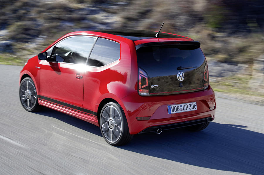 volkswagen up gti 2018 review autocar. Black Bedroom Furniture Sets. Home Design Ideas