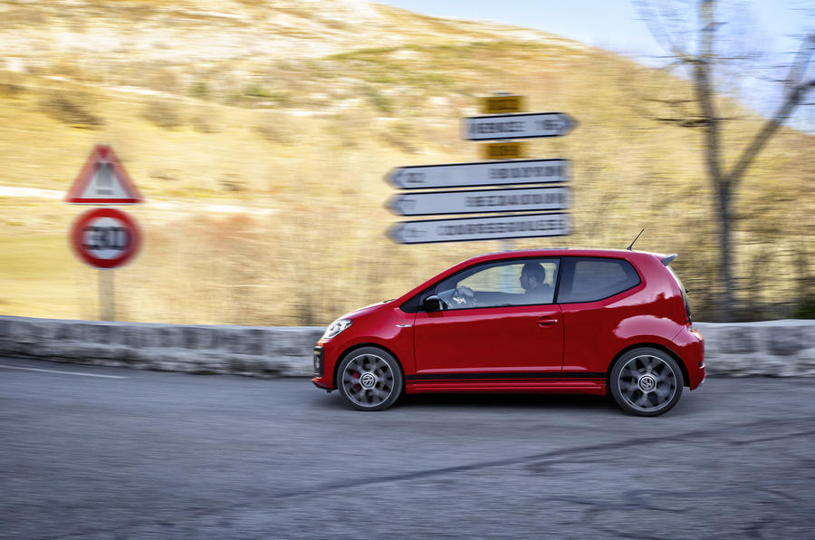 Volkswagen Up GTI side profile