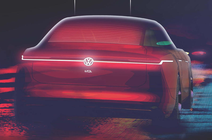 Volkswagen ID. Space Vizzion hints at the firm's first electric estate