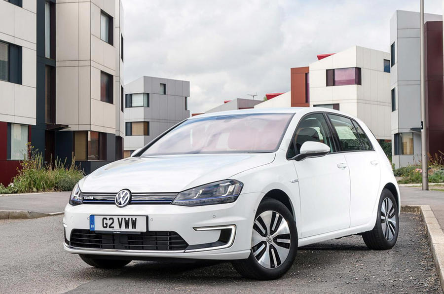 Volkswagen e-Golf 2016 - stationary front