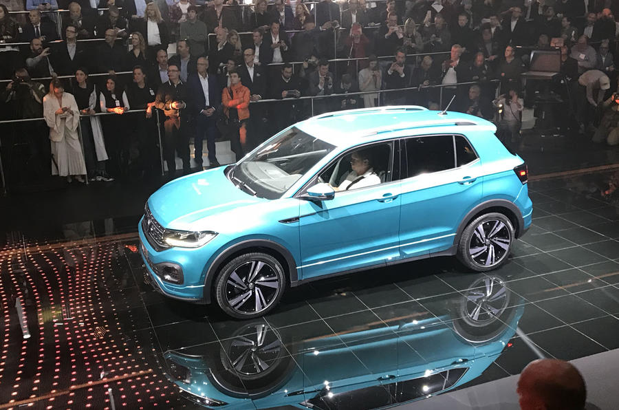Volkswagen T-Cross 2019 official reveal event - front