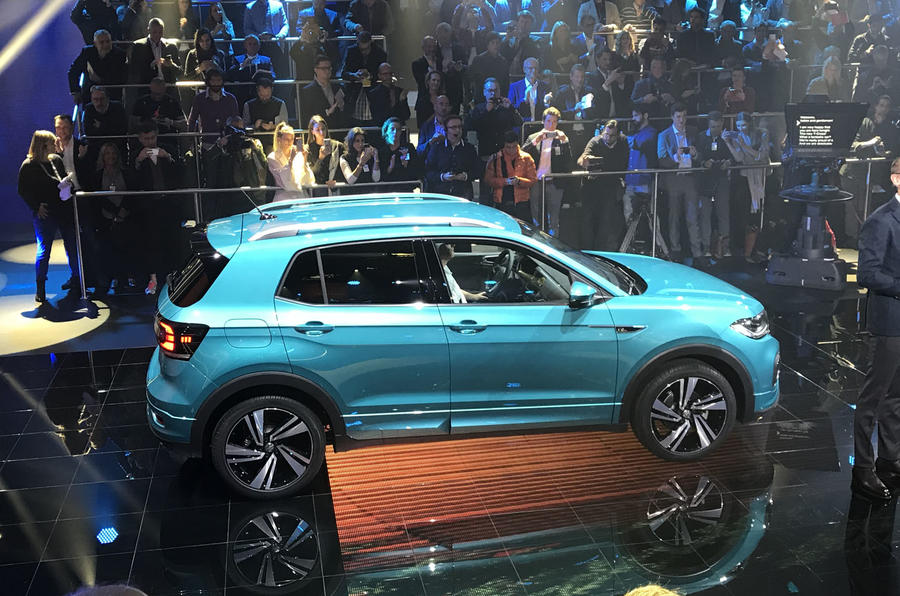 Volkswagen T-Cross 2019 official reveal event - rear