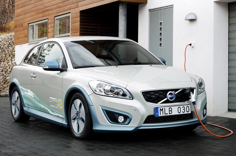 Volvo charging