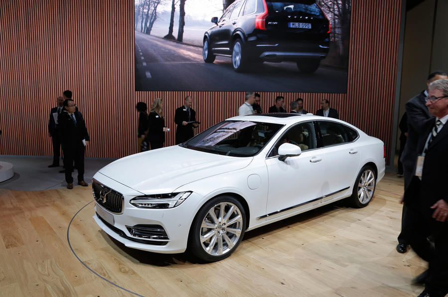 new volvo s90 2016 pricing announced autocar. Black Bedroom Furniture Sets. Home Design Ideas