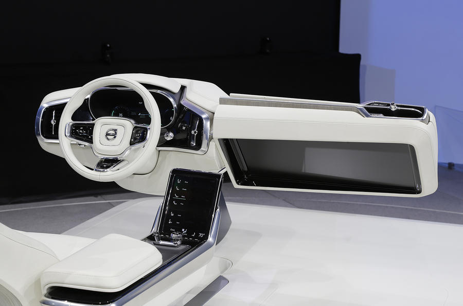 Volvo Concept 26 shows next-gen interior | Autocar