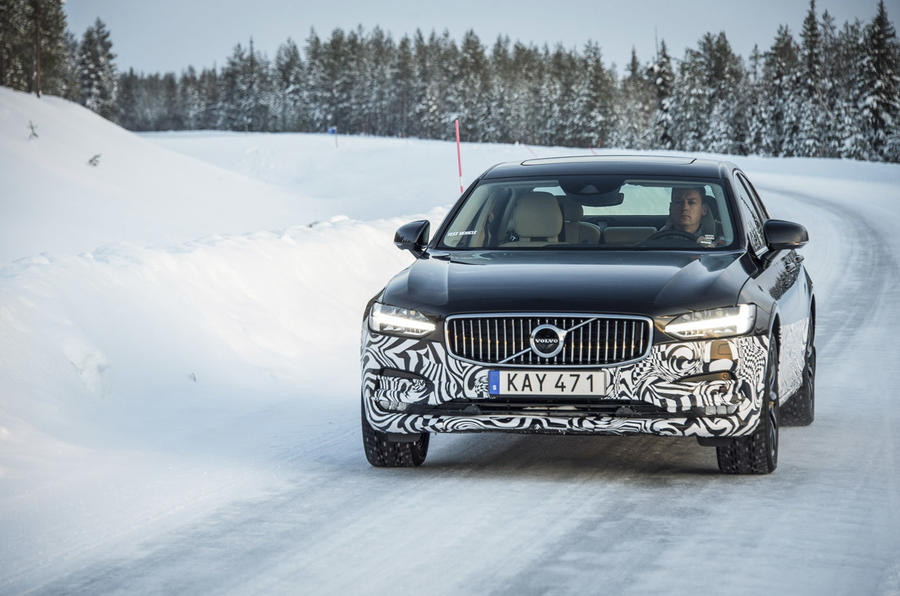 £36,000 Volvo S90 prototype