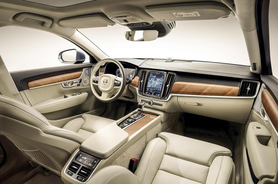 Volvo S90 prototype interior