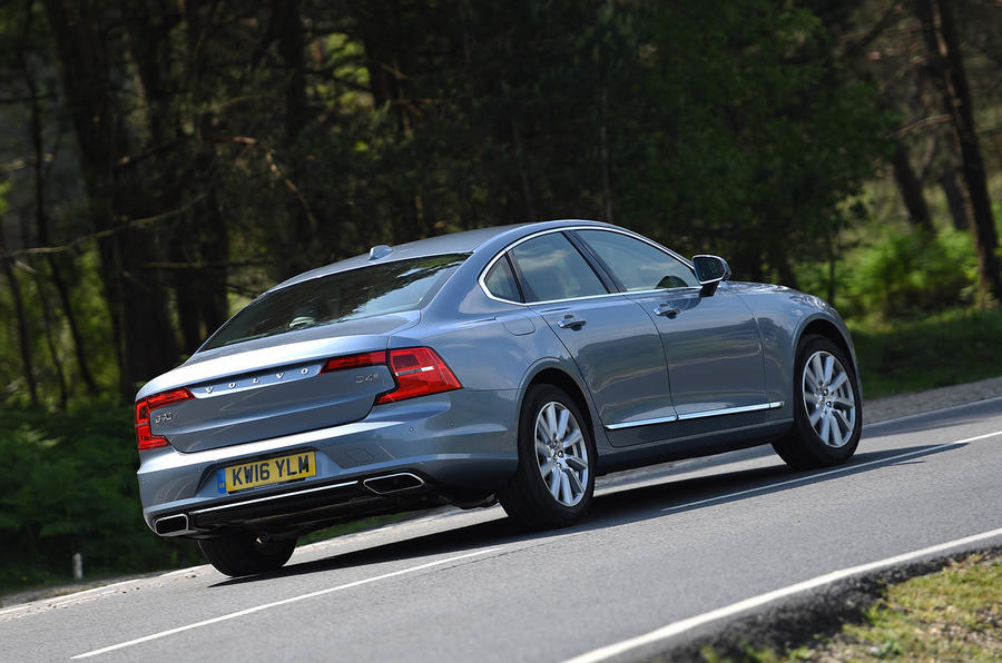 2016 volvo s90 d4 review review autocar. Black Bedroom Furniture Sets. Home Design Ideas