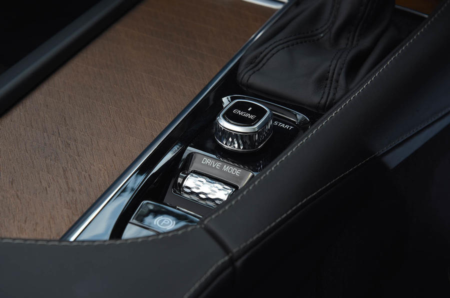 Volvo S90 infotainment controller