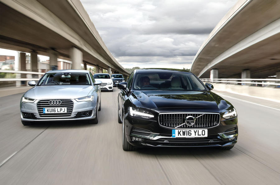 Exceptional Audi A6 Vs Lexus GS Vs Mercedes Benz E Class Vs Volvo S90 ...