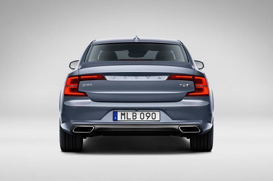 Volvo S90 rear studio
