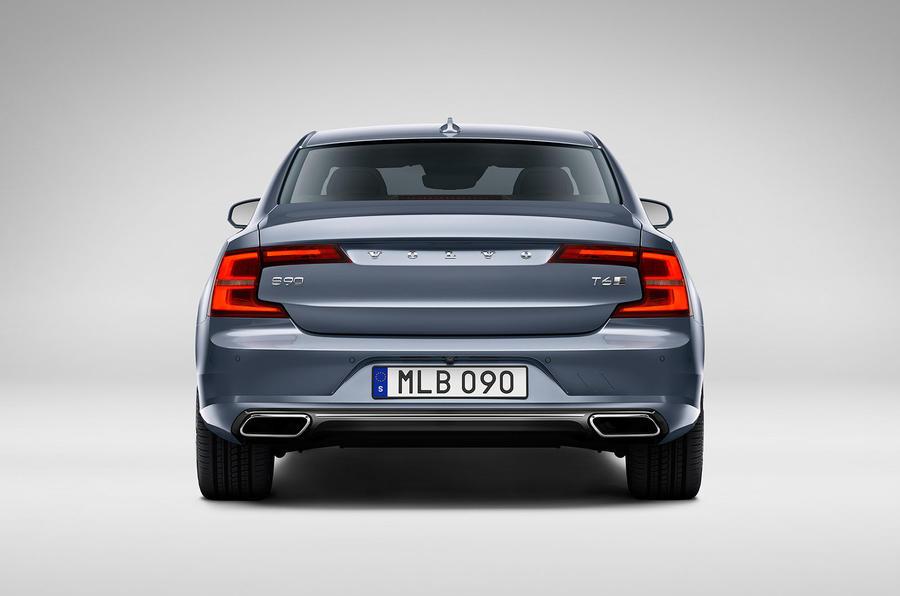 Volvo S90 rear studio
