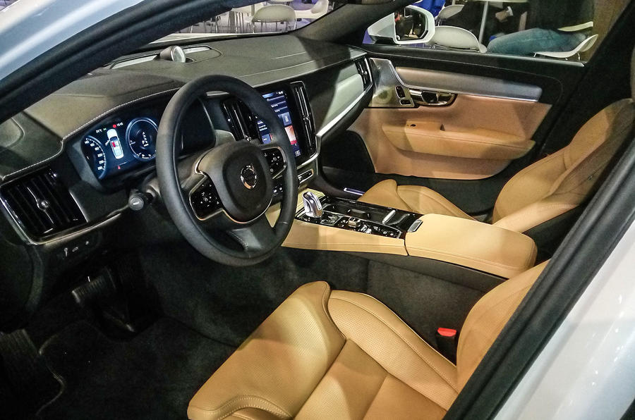 new volvo s90 cabin will shake up exec market autocar. Black Bedroom Furniture Sets. Home Design Ideas
