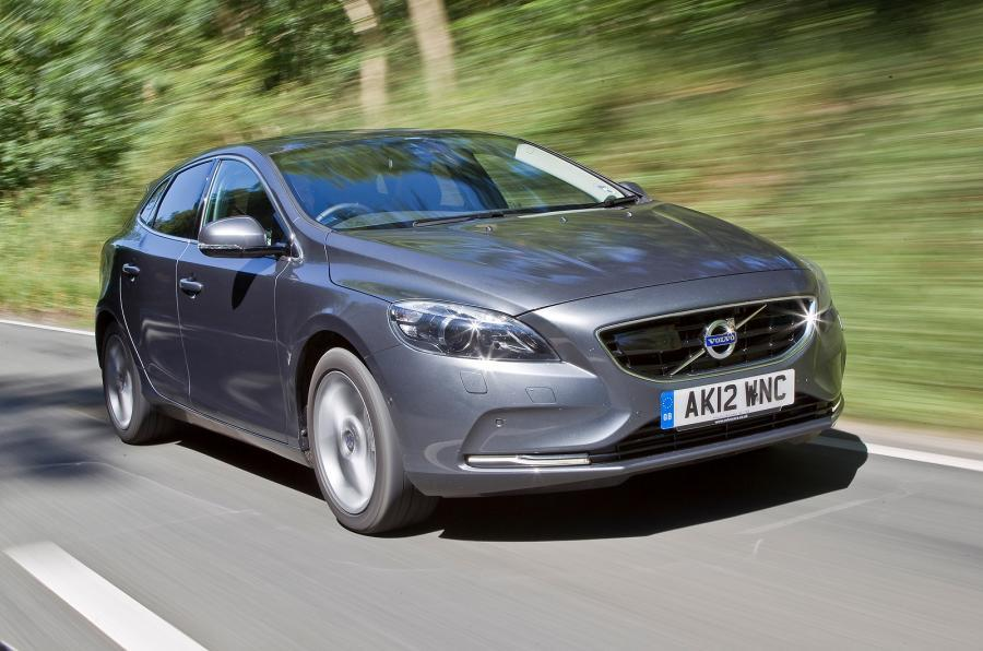 Volvo V40 safety award
