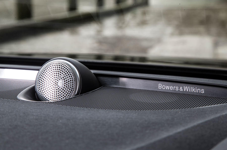 Volvo V90 Bowers and Wilkins stereo