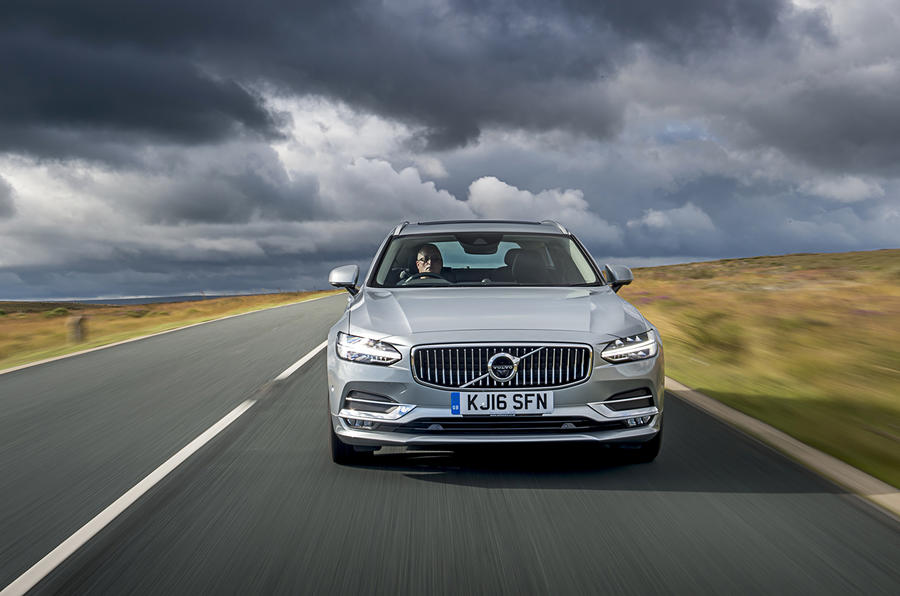 Volvo V90 front end