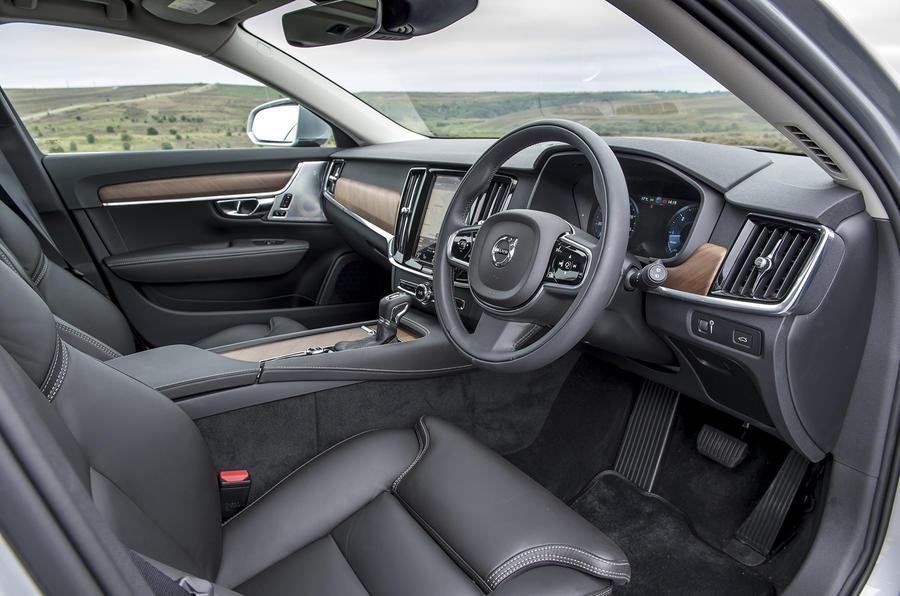 2016 volvo v90 d5 powerpulse awd inscription review review autocar. Black Bedroom Furniture Sets. Home Design Ideas