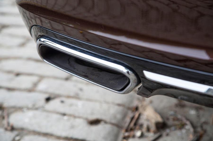 Volvo V90 chrome exhaust