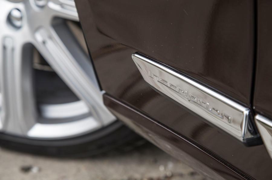 Volvo V90 Inscription badging
