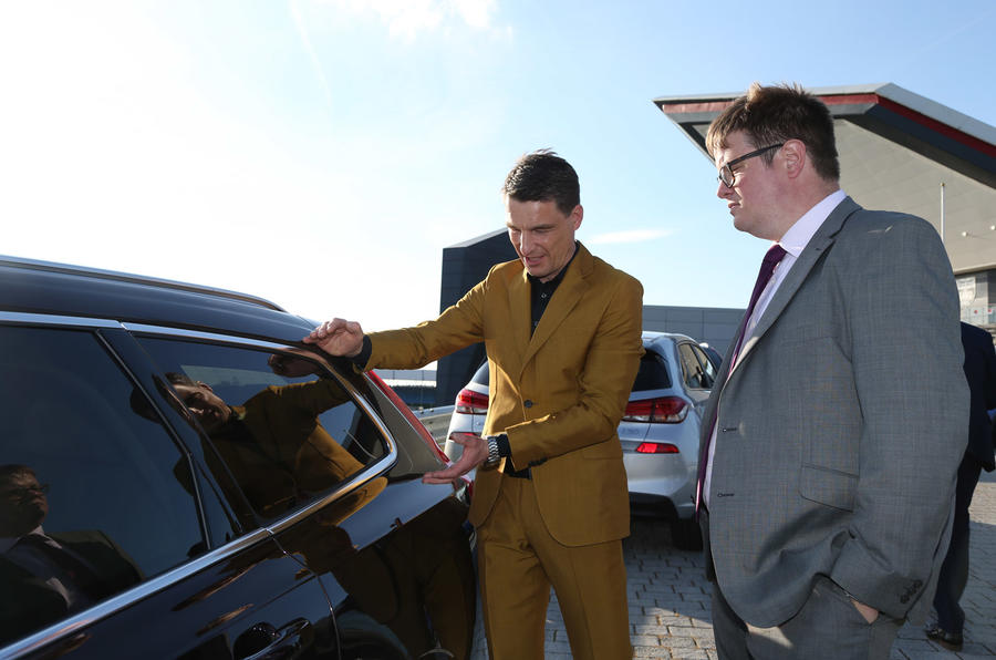Thomas Ingenlath talks Volvo V90 roof line