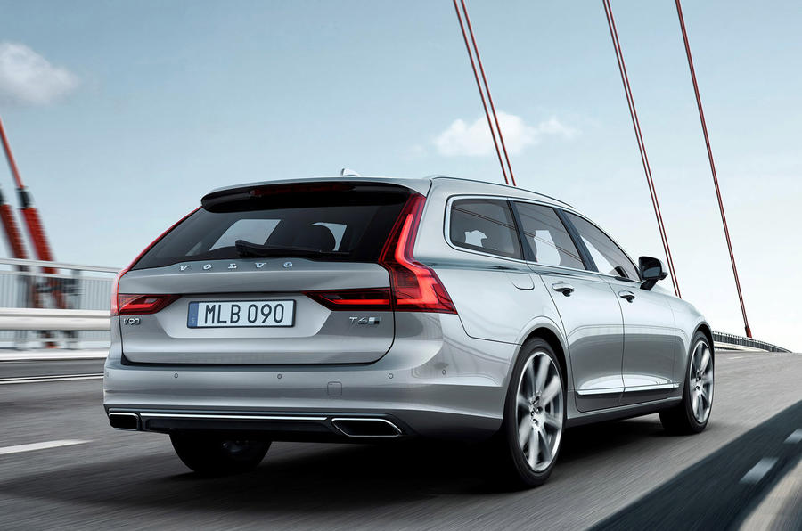 volvo s sister car to the s90 saloon is priced from 34 555 and is on