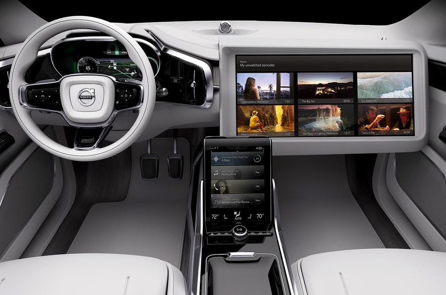 Custom Volvo interior